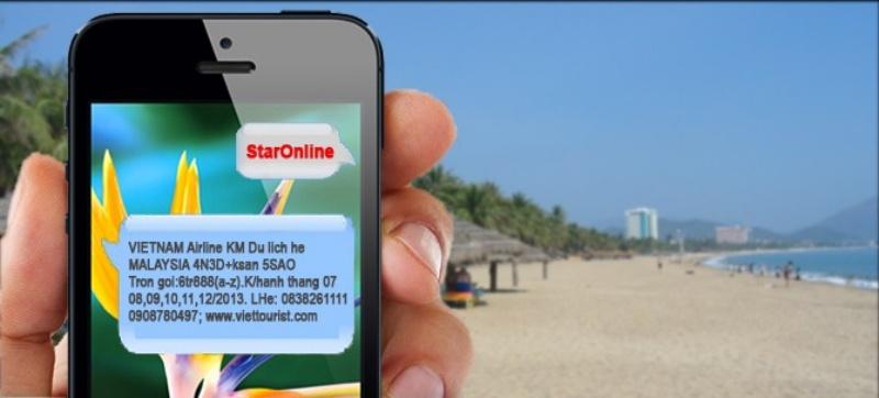 Ngành du lịch nằm trong Top ngành đứng đầu tăng trưởng với SMS Marketing