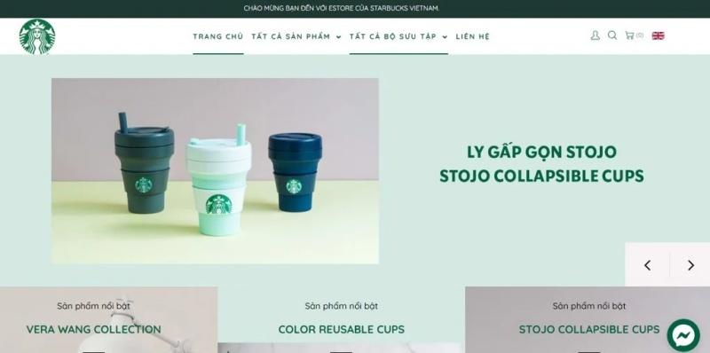 eStorechính thức của Starbucks Việt Nam