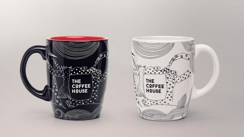 Hình ảnh của bộ merchandise The Coffee Housecho Giáng sinh 2019.