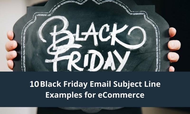 10 thống kê dòng tiêu đề email phổ biến dịp lễ Black Friday