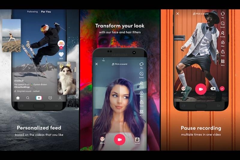 TikTok – Nền tảng tạo video ngắn năm 2021