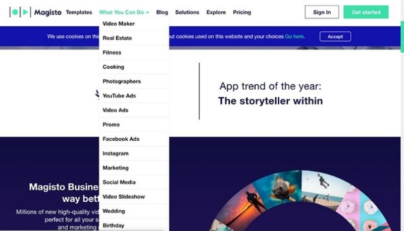 Vimeo gần đây đã mua lại Magisto, một phần mềm chỉnh sửa video giúp tiếp thị video dễ dàng thông qua trí tuệ nhân tạo (AI)