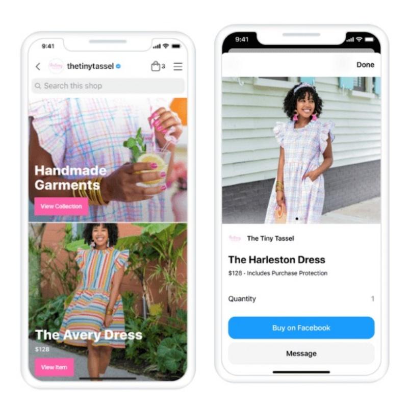 Tạo ra trải nghiệm mua sắm mang màu sắc riêng trên Facebook